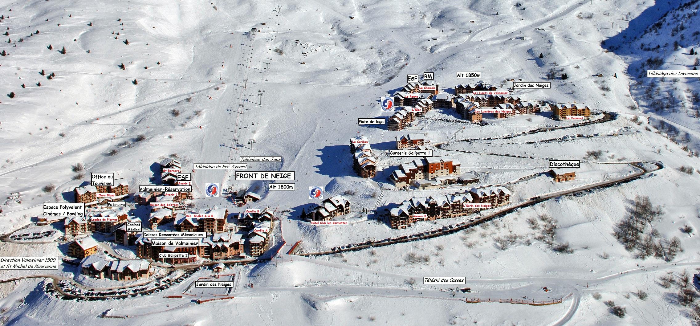 Campagne asint le week end ski marie clef - Office du tourisme valmeinier 1800 ...