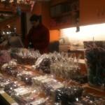 Chalet : chocolats italiens à vendre!