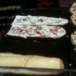 Baguette Flambée au munster et autres sortes