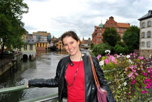 Moi à Strasbourg
