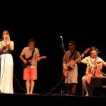 Groupe musiciens chanteurs
