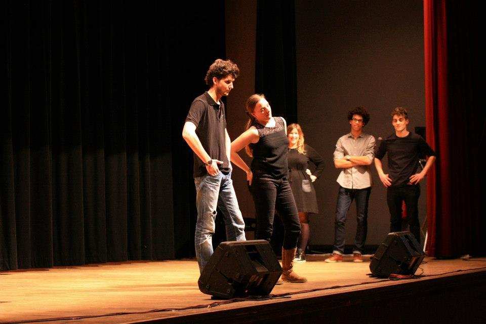 Théâtre d'improvisation