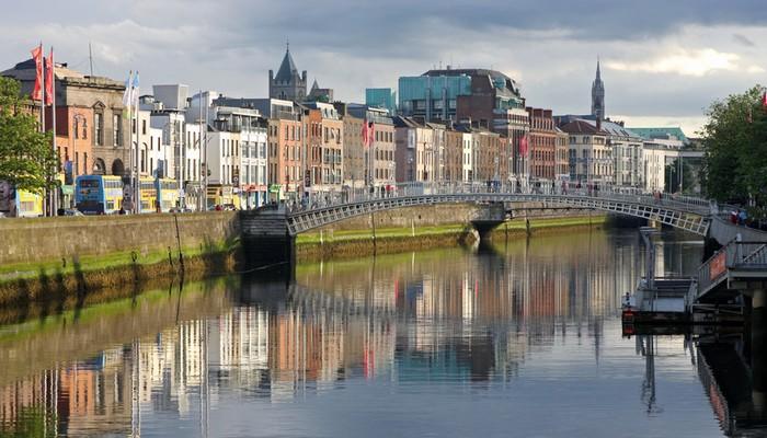 Dublin en Irlande
