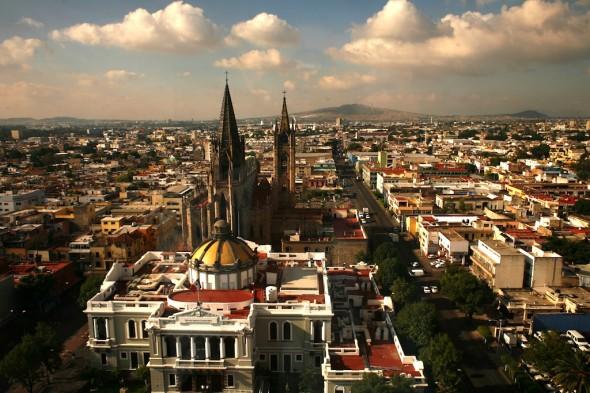 Guadalajara au Mexique