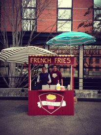Stand frites!