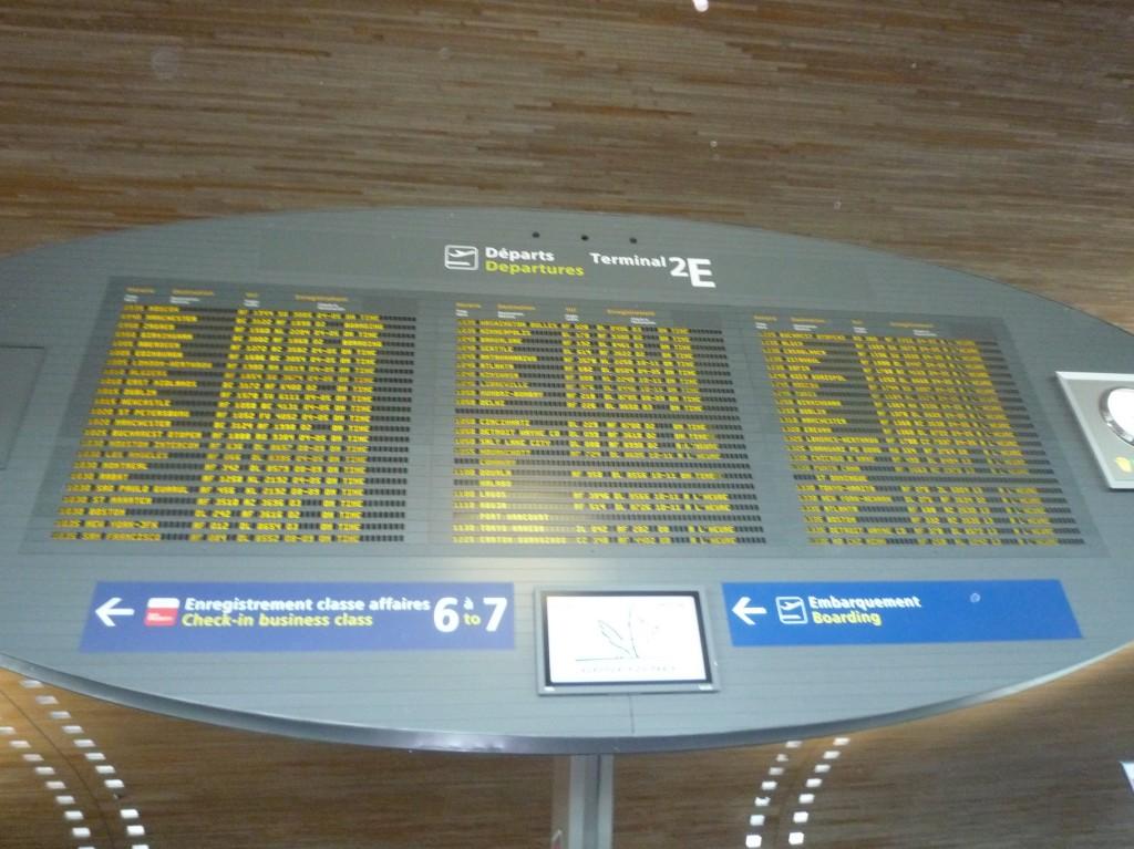Liste des départs