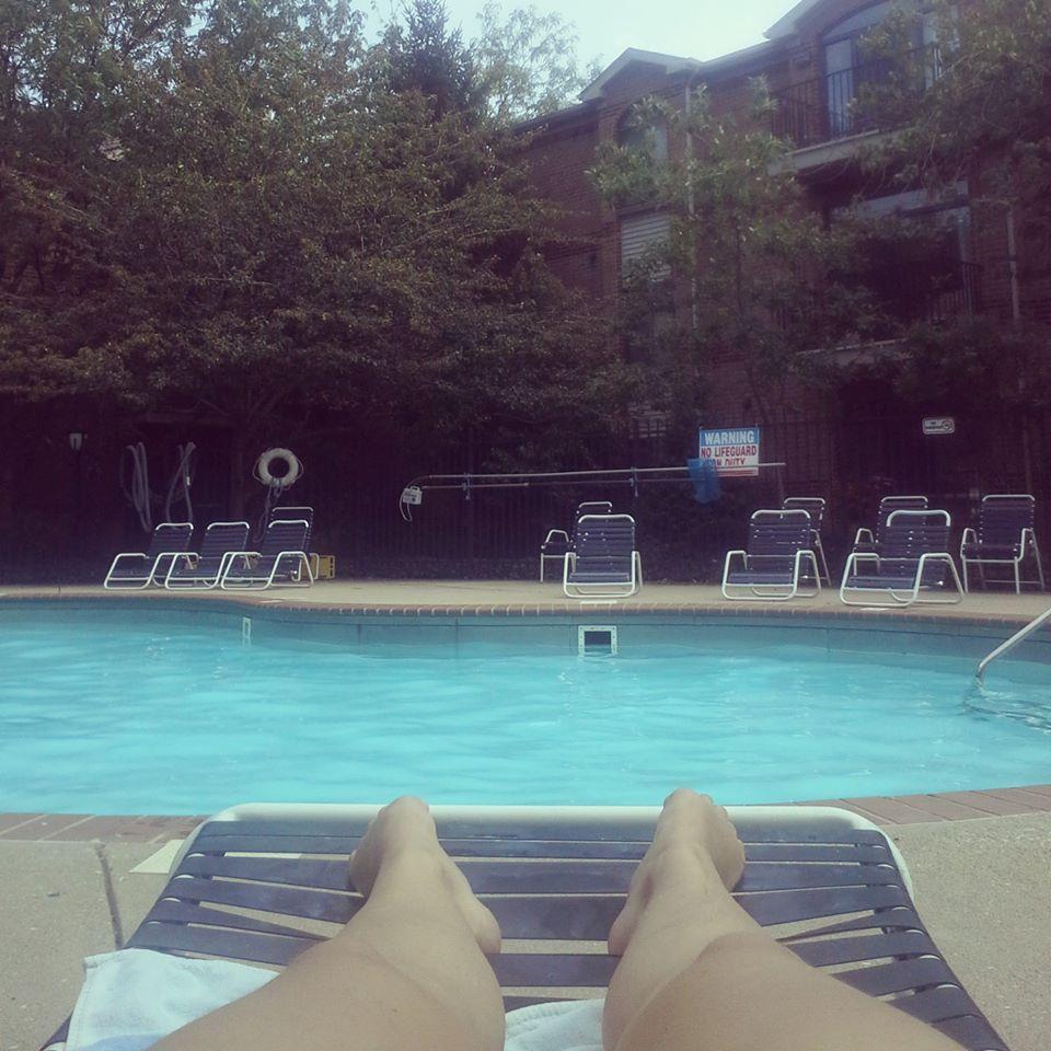 apres midi piscine