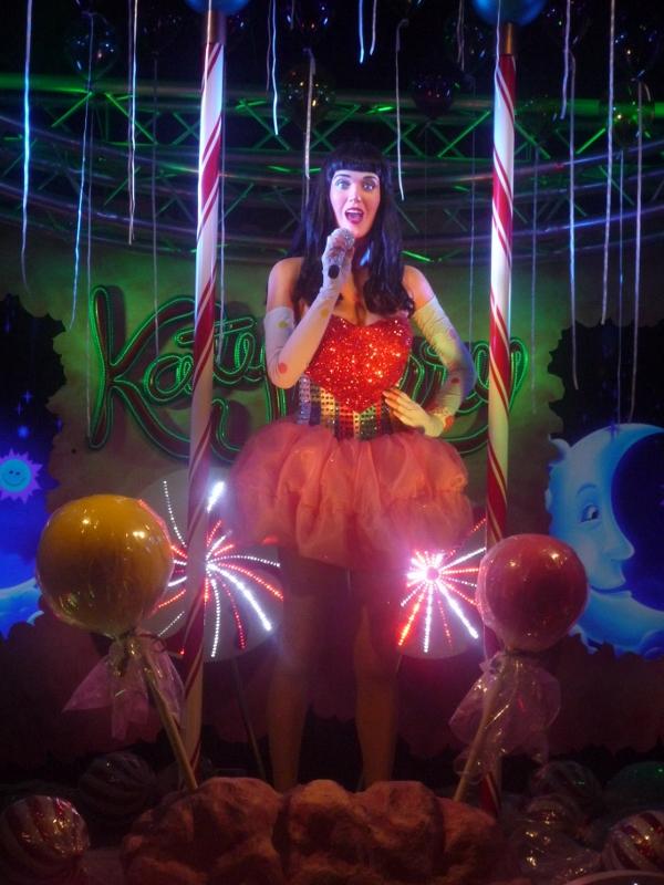 Katy Perry in wax