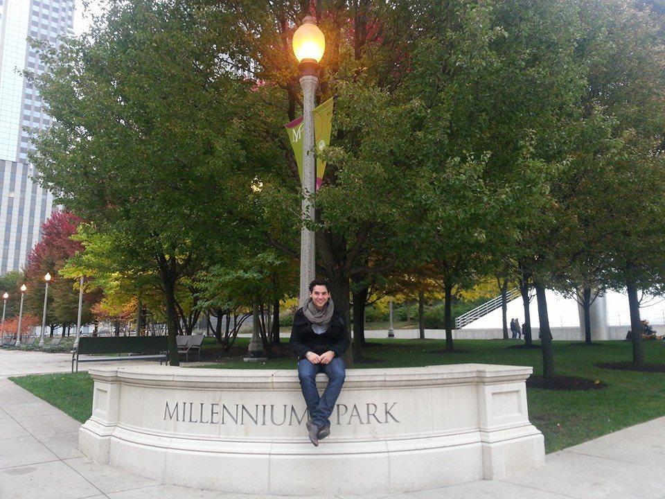Entrée du Millenium Park