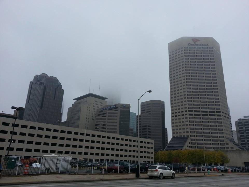 Centre ville d'Indianapolis
