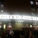 L'entrée du united center