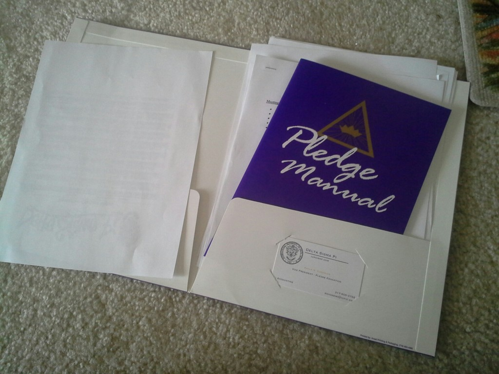 Pledge Manual