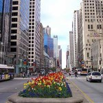 Michigan Avenue, quartier Magnificent mile