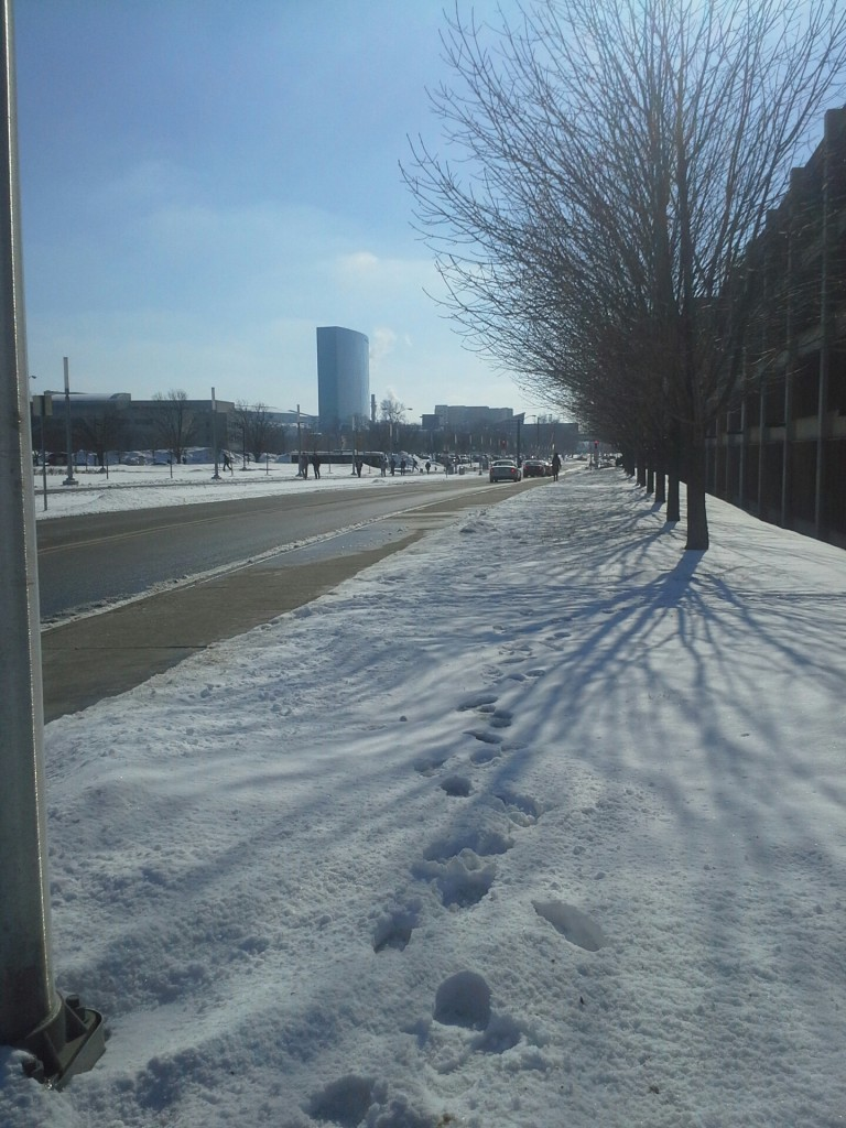 Indianapolis sous la neige