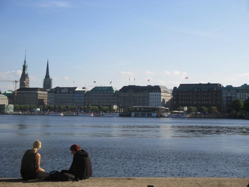 Vue sur le lac Hambourg