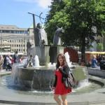 Fontaine au marché de Brême